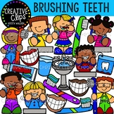 Brushing Teeth Clipart {Creative Clips Clipart}