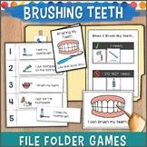 Brushing Teeth File Folder Games