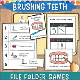 Brushing Teeth File Folder Games