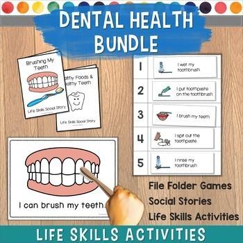 Dental Health Life Skills Activities Bundle