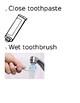 Brushing Teeth Steps