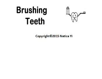 Brushing Teeth Tooth Brushing Graphic Organizer