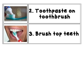 Brushing Teeth Visual Schedule