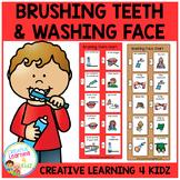 Brushing Teeth & Washing Face Visual Charts