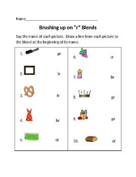 "Brushing Up on ""r"" Blends"