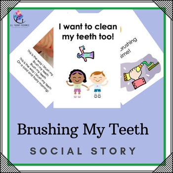 Brushing my Teeth Social Story: Autism