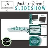Brushstrokes Back to School Slideshow