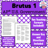 Brutus 1: AP® U.S. Government