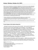 Primary Source DBQs on the Federalist-Antifederalist Debate - Brutus I