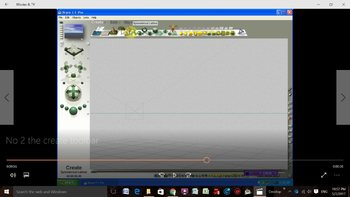 Bryce 3D - Video Tutorials - No 2 - The Interface - The Create Toolbar