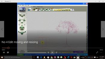 Bryce 3D - Video Tutorials - No 4 - The Edit Toolbar - Moving and Resizing