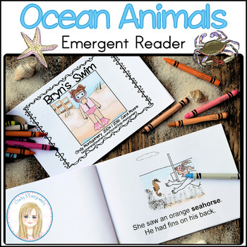 Bryn's Swim Emergent Reader for Ocean Unit