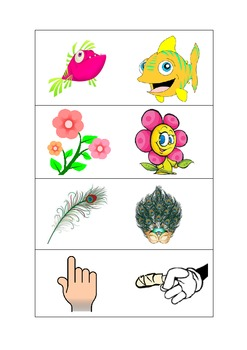 BtoZ Picture Flashcards