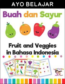 Buah dan Sayur | Fruits and Veggies in Bahasa Indonesia/Indonesian