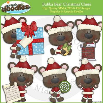 Bubba Bear Christmas Cheer