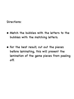 Bubble Alphabet Matching Folder Game_Lowercase