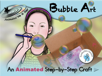 Bubble Art - Animated Step-by-Step Recipe/Craft SymbolStix
