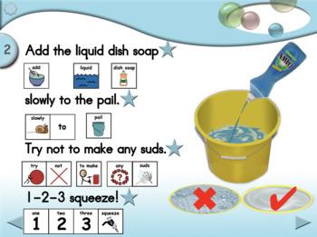 Bubble Art - Animated Step-by-Step Recipe/Craft - SymbolStix
