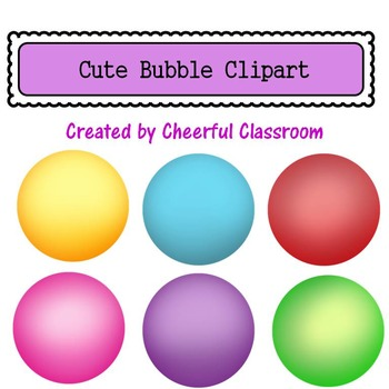 Bubble Bouncy Ball Background (Cute Clipart)