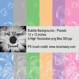 Bubble Backgrounds Pastels