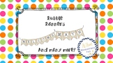 Bubble Banner Set!