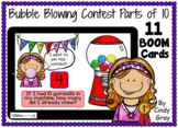 Bubble Blowing Contest ~ Parts of Ten ~ BOOM Cards ~ Dista