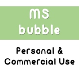 Bubble Bold Font | Personal & Commercial Use | MS Fonts