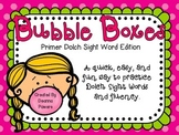 Bubble Boxes- Sight Word Fluency Practice- Primer Words