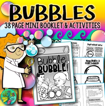 Bubble Bubble! {Fun and facts about bubble blowing}