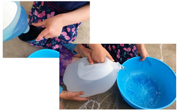 Bubble Bubble - outdoor lesson about Surface Tension, Cohesion, & Adhesion