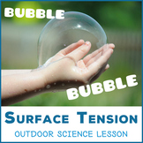Bubble Bubble - outdoor lesson about Surface Tension, Cohe
