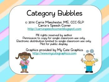 Bubble Categories