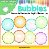 Bubble Clip Art - Movable Pieces for Digital Resources