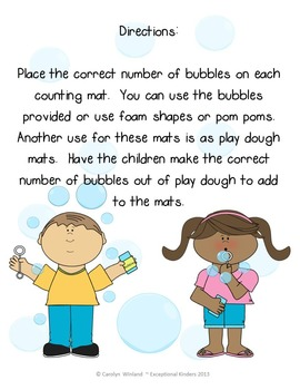 Counting Mats - Bubbles