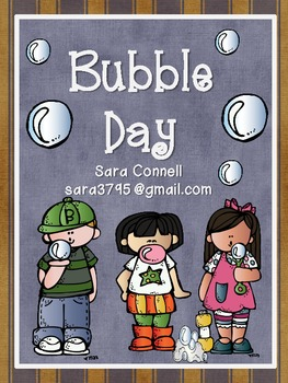 Bubble Day:  End of the Year Activities