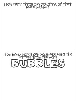 Bubble Day Fun Book
