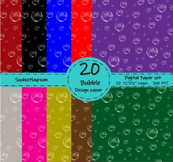 Bubble Digital Paper