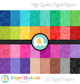 Bubble Digital Papers