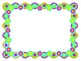 Bubble Frames and Borders