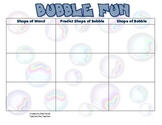 Bubble Fun with 3D Shapes