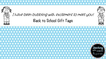 Bubble Gift Tag