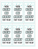 Bubble Gift Tags Freebie for end of the year gifts