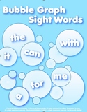 Bubble Graph Kindergarten  sight Words  FREEBIE in preview!