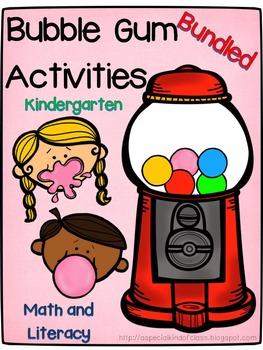 Bubble Gum Activities (Bundle)