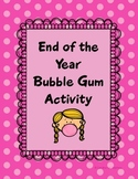 Bubble Gum Activity