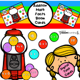 Bubble Gum Addition Math Facts BOOM cards-Digital Task Cards