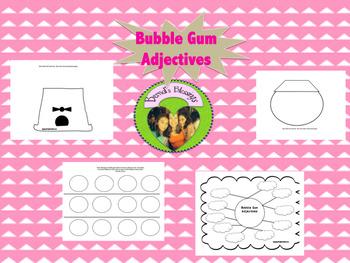 Bubble Gum Adjectives