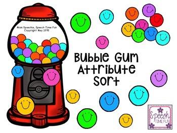 Bubble Gum Attribute Sort