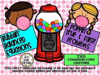 Bubble Gum Balancing Equations Centers