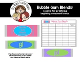Bubble Gum Beginning Consonant Blends Game